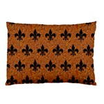 ROYAL1 BLACK MARBLE & RUSTED METAL (R) Pillow Case