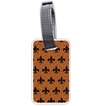 ROYAL1 BLACK MARBLE & RUSTED METAL (R) Luggage Tags (Two Sides)
