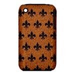 ROYAL1 BLACK MARBLE & RUSTED METAL (R) iPhone 3S/3GS