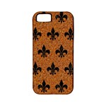 ROYAL1 BLACK MARBLE & RUSTED METAL (R) Apple iPhone 5 Classic Hardshell Case (PC+Silicone)