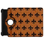 ROYAL1 BLACK MARBLE & RUSTED METAL (R) Kindle Fire HD 7