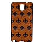 ROYAL1 BLACK MARBLE & RUSTED METAL (R) Samsung Galaxy Note 3 N9005 Hardshell Case