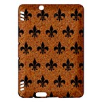 ROYAL1 BLACK MARBLE & RUSTED METAL (R) Kindle Fire HDX Hardshell Case