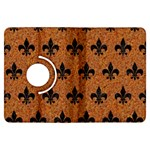 ROYAL1 BLACK MARBLE & RUSTED METAL (R) Kindle Fire HDX Flip 360 Case