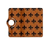 ROYAL1 BLACK MARBLE & RUSTED METAL (R) Kindle Fire HDX 8.9  Flip 360 Case