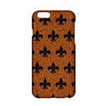 ROYAL1 BLACK MARBLE & RUSTED METAL (R) Apple iPhone 6/6S Hardshell Case
