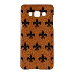 ROYAL1 BLACK MARBLE & RUSTED METAL (R) Samsung Galaxy A5 Hardshell Case
