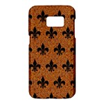 ROYAL1 BLACK MARBLE & RUSTED METAL (R) Samsung Galaxy S7 Hardshell Case