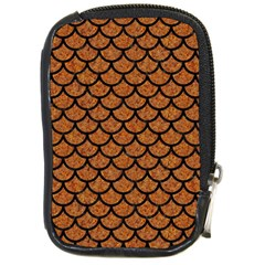 Scales1 Black Marble & Rusted Metal Compact Camera Cases by trendistuff