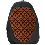 SCALES1 BLACK MARBLE & RUSTED METAL Backpack Bag