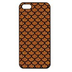 SCALES1 BLACK MARBLE & RUSTED METAL Apple iPhone 5 Seamless Case (Black)