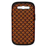 SCALES1 BLACK MARBLE & RUSTED METAL Samsung Galaxy S III Hardshell Case (PC+Silicone)