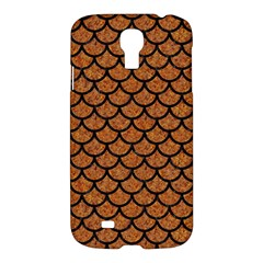 Scales1 Black Marble & Rusted Metal Samsung Galaxy S4 I9500/i9505 Hardshell Case by trendistuff