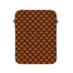 SCALES1 BLACK MARBLE & RUSTED METAL Apple iPad 2/3/4 Protective Soft Cases