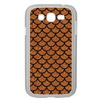SCALES1 BLACK MARBLE & RUSTED METAL Samsung Galaxy Grand DUOS I9082 Case (White)
