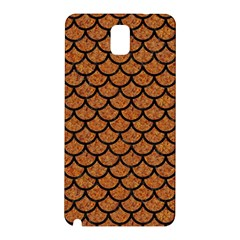 Scales1 Black Marble & Rusted Metal Samsung Galaxy Note 3 N9005 Hardshell Back Case by trendistuff