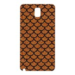SCALES1 BLACK MARBLE & RUSTED METAL Samsung Galaxy Note 3 N9005 Hardshell Back Case