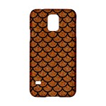 SCALES1 BLACK MARBLE & RUSTED METAL Samsung Galaxy S5 Hardshell Case