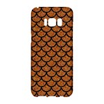 SCALES1 BLACK MARBLE & RUSTED METAL Samsung Galaxy S8 Hardshell Case