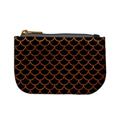 Scales1 Black Marble & Rusted Metal (r) Mini Coin Purses by trendistuff