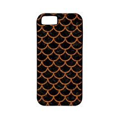 Scales1 Black Marble & Rusted Metal (r) Apple Iphone 5 Classic Hardshell Case (pc+silicone) by trendistuff