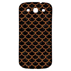 Scales1 Black Marble & Rusted Metal (r) Samsung Galaxy S3 S Iii Classic Hardshell Back Case by trendistuff
