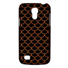 Scales1 Black Marble & Rusted Metal (r) Galaxy S4 Mini by trendistuff