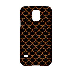 Scales1 Black Marble & Rusted Metal (r) Samsung Galaxy S5 Hardshell Case  by trendistuff