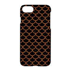 Scales1 Black Marble & Rusted Metal (r) Apple Iphone 7 Hardshell Case by trendistuff