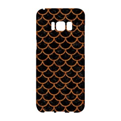 Scales1 Black Marble & Rusted Metal (r) Samsung Galaxy S8 Hardshell Case  by trendistuff
