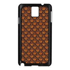 Scales2 Black Marble & Rusted Metal Samsung Galaxy Note 3 N9005 Case (black) by trendistuff
