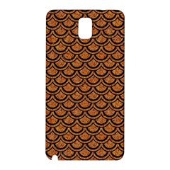 Scales2 Black Marble & Rusted Metal Samsung Galaxy Note 3 N9005 Hardshell Back Case by trendistuff