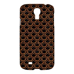 Scales2 Black Marble & Rusted Metal (r) Samsung Galaxy S4 I9500/i9505 Hardshell Case by trendistuff