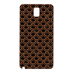 Scales2 Black Marble & Rusted Metal (r) Samsung Galaxy Note 3 N9005 Hardshell Back Case by trendistuff