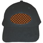 SCALES3 BLACK MARBLE & RUSTED METAL Black Cap