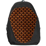 SCALES3 BLACK MARBLE & RUSTED METAL Backpack Bag