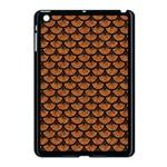 SCALES3 BLACK MARBLE & RUSTED METAL Apple iPad Mini Case (Black)