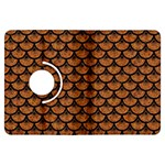 SCALES3 BLACK MARBLE & RUSTED METAL Kindle Fire HDX Flip 360 Case