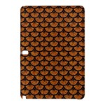 SCALES3 BLACK MARBLE & RUSTED METAL Samsung Galaxy Tab Pro 10.1 Hardshell Case