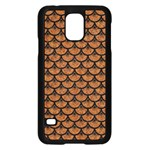 SCALES3 BLACK MARBLE & RUSTED METAL Samsung Galaxy S5 Case (Black)