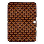 SCALES3 BLACK MARBLE & RUSTED METAL Samsung Galaxy Tab 4 (10.1 ) Hardshell Case