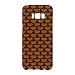 SCALES3 BLACK MARBLE & RUSTED METAL Samsung Galaxy S8 Hardshell Case