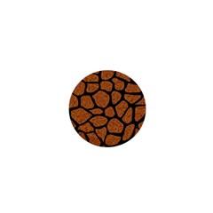Skin1 Black Marble & Rusted Metal (r) 1  Mini Magnets by trendistuff