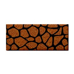 Skin1 Black Marble & Rusted Metal (r) Cosmetic Storage Cases by trendistuff