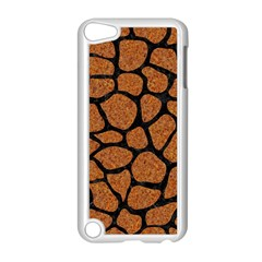 Skin1 Black Marble & Rusted Metal (r) Apple Ipod Touch 5 Case (white) by trendistuff
