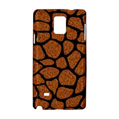 Skin1 Black Marble & Rusted Metal (r) Samsung Galaxy Note 4 Hardshell Case by trendistuff