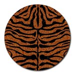 SKIN2 BLACK MARBLE & RUSTED METAL Round Mousepads