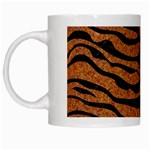 SKIN2 BLACK MARBLE & RUSTED METAL White Mugs