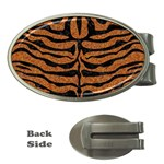 SKIN2 BLACK MARBLE & RUSTED METAL Money Clips (Oval)