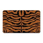 SKIN2 BLACK MARBLE & RUSTED METAL Magnet (Rectangular)
